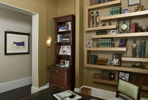 Home: Office / Man cave / by Tiffany Nadauld