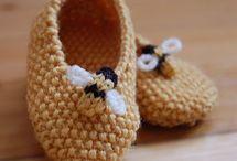 Bee patterns & knitting inspiration