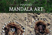 mandala aus steinen
