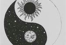 mandala ying yang tattoo