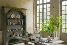 A Dining Experience / Dining room ideas from the uber glam to the charmingly rustic