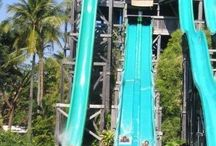 Water slides & pools / by ♥Clary♥