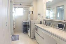洗面ルーム&バスルーム