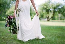 Elegant Rustic Wedding Inspiration / Rustic Wedding Ideas for Brides