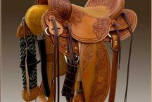 saddles and bridles