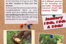 Organic Fiji: Pin to Win / Keep on eye on this board for pin to win opportunities!