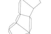 plantillas poliedros