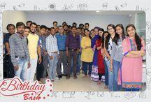 Birthday Celebration of Aditya Sir