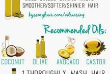 Olive Oil - Nourishment for Hair, Nails & Skin / Some ideas and uses for olive oil to nourish the hair, skin and nails