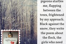 More quick quotes from Beautiful Affliction, as featured on Terri Giuliano Long's blog