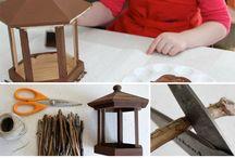 DIY Bird houses