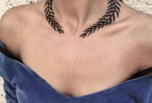 Necklace tattoo