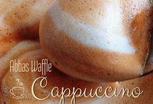 Abbas Waffle'da Kahve Keyfi. / Artık enfes kahve çeşitlerimiz: Capuccino, Americano, Esprresso, Latte...Hepsi Abbas Waffle Ankara'da.