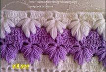 Puntillas en. Crochet