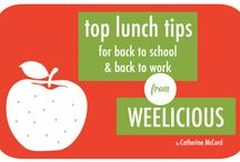 Lunchbox Ideas / Great ideas and tips for packing lunches!