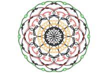 Mandala / Mandalas malen