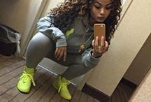 Sneaker/tomboy look