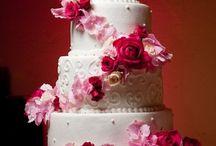 Brookes cranpinkivory wedding / by Wendy Schoenrock