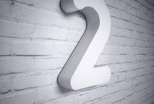 TERMÉKEINK // SZÁMOK & KARAKTEREK / 3 betűtípus 15 különböző színben. Megrendelhető a www.miradea.com -on