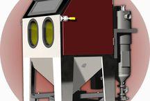 Druck -und Injektorstrahlanlagen / Kompakte Druck -und Injektorstrahlanlagen mit integrierter Filtertechnik und Strahlmittelrückgewinnung oder flexible Anlagen zu individuellen Anpassung für die industrielle Reinigung von Oberflächen in der Produktion und Instandhaltung.