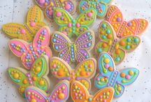 cookies butterflies