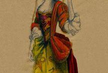 Fashion history, costumes