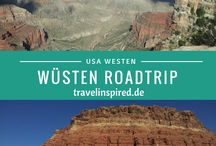 Roadtrips / Best Roadtrips world wide / Die besten Roadtrip Strecken weltweit