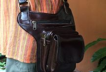 Leather Messenger Bags / Tech Bags