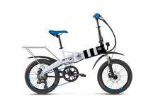 CITYSURFER / Una bicy eléctrica que te dejará alucinad@  La Citysurfer es pequeña, plegable, ligera con su chasis en aleación de aluminio, muy ágil y potente como pocas, con cambio Shimano TX de 6 velocidades y un sillín diseñado para una comodidad extra.
