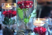 Centros de mesa cristal