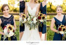 HGPD | Blue Tones Wedding Inspiration / Weddings: Blue Toned Inspiration
