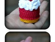 Crochet food toys