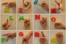 znakové řeč