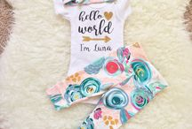 Baby coming home outfit