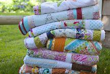 Folded quilts are nice / by Karen Ganske