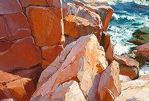 kövek sziklák