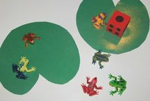 Frog Preschool Theme / A Preschool Frog Theme with preschool lesson plans, preschool activities and ideas at http://www.preschool-plan-it.com/frog-theme.html