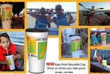 Baja Fresh Photo Contest - Reusable Cup