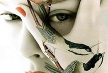 Art, skin and nature