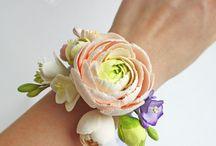 kwiatki na rękę