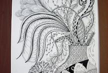 ART...Zentangle by Sue Clark