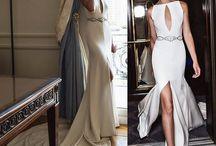 Weddingdress split