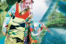 花魁 / #japanese #beauty #kimono