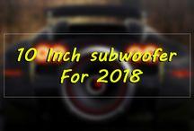10 Inch subwoofer 2018
