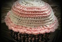 pouf muffin crochet
