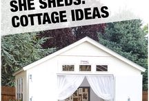 She Shed / Let's pin our shed likings!