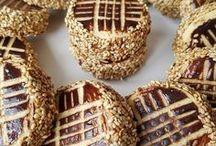 ici cikolatali susamli kurabiye