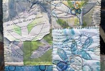 fabric dying and art ideas