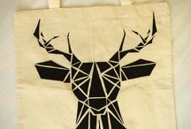Bags / My handmade tote bags!