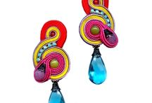 Soutache earrings / by Lolissa